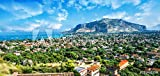 druck-shop24 Wunschmotiv: View of The Gulf of Mondello and