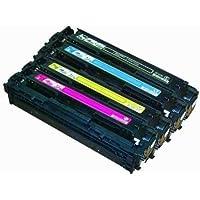 '126A toner HP Generico CE310A CE311A CE312A CE313A Pack 4colori