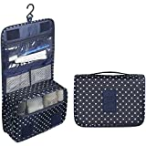 YFXOHAR Multi Functional Travel Organizer Accessory Toiletry Cosmetics Bag Makeup Shaving Kit Pouch For Man &...