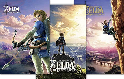 THE LEGEND OF ZELDA g874215 Póster Breath of The
