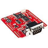 SparkFun CAN-Bus Shield with MCP2515 Controller/Transceiver 10 MHz SPI Interface CAN Connection via Standard 9-Way Sub-D Connector to Work with OBD-II Cable for Arduino/Redboard SF13262