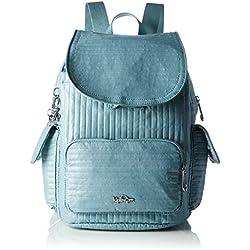 Kipling - City Pack S, Mochilas Mujer, Blau (Misty Blue), One Size