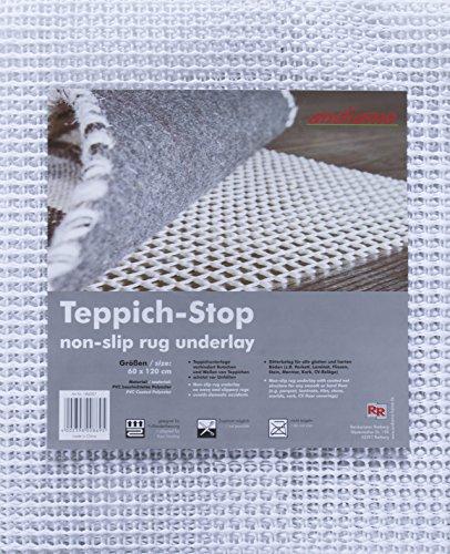 Teppich-Stop Antirutschmatte Teppichgleitschutz Teppichunterlage Haftgitter Rutschschutz, PVC...