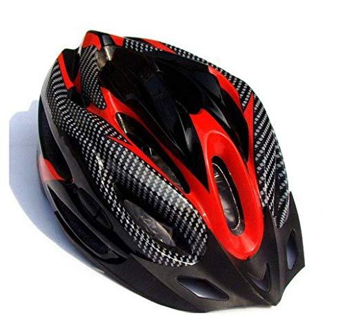 HaoLiao Helm Einradhelm Mountainbike Fahrradhelm Reitausrüstung Reithelm rot