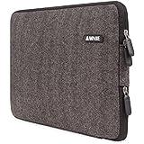 [Beste tragbare Laptop-Tasche aller Zeiten] AMNIE Herringbone Woollen wasserresistente 38.1-39.6 cm