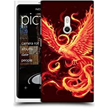 Offizielle Christos Karapanos Wiederaufstehung 2 Phoenix 3 Ruckseite Hülle für Nokia Lumia 800 / Sea Ray