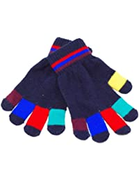 Children's Magic Gloves with Multi Coloured Fingers.