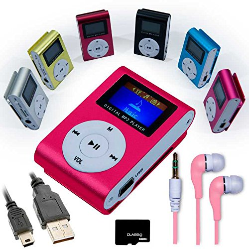 mini-reproductor-mp3-rosa-con-fm-auriculares-cable-mini-usb-tarjeta-micro-sd-8gb