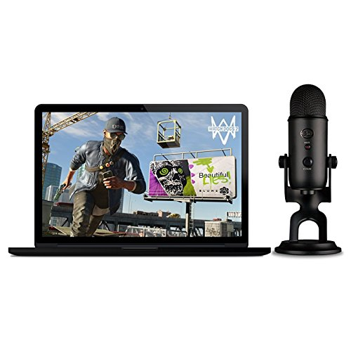 Foto Blue Blackout Yeti + Watch_Dogs 2 PC: The Ultimate Streamer Bundle