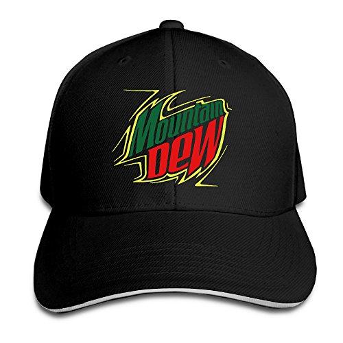master-mountain-dew-energy-drink-snapback-cappelli-cappelli-berretto-da-baseball-uomo-black