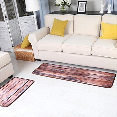 LYD® Zuhause Maschinenweberei Staubsaugen Kurzer Plüsch Kreativ Fußauflage Sofa Wohnzimmer Kaffetisch Nachttisch Schlafzimmer Wasseraufnahme Rutschfest Teppich 50X80Cm