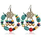 Bling N Beads Multi colored Earrings Gift For Her Birthday Wedding Valentine