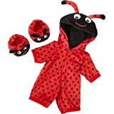 Delightful Chad-Valley Designabear Ladybird All-In-One Outfit with accompanying HSB Storage Bag