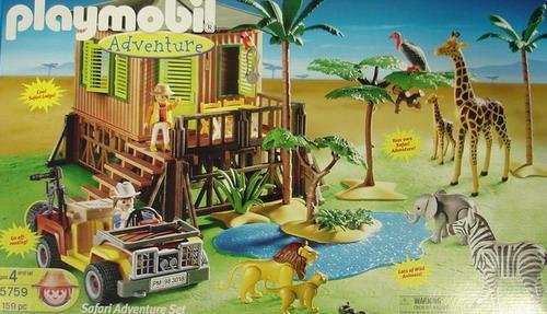 Playmobil adventure - 5759 - Safari