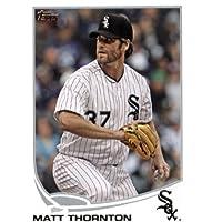 2013 Topps Baseball Card # 292 Matt Thornton Chicago White Sox