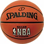 SPALDING NBA Silver Outdoor Basketbal...