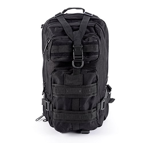 Imagen de cle de tous   bolsa militar táctico de hombre para acampada camping senderismo deporte negro  alternativa