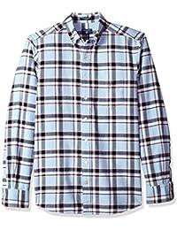 GANT Men's Brushed Oxford Plaid Shirt