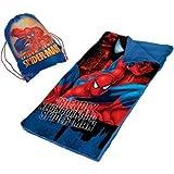 Marvel Spider Man Slumber Nap Mat With Bonus Sling Bag