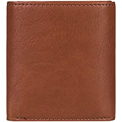 DC Shoes Men's Side Note Trifold Wallet Brown