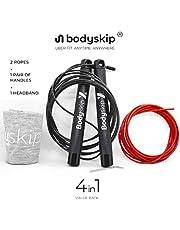 Bodyband Skip-X Skip Jump Cross 4 In-1 Spin Rope