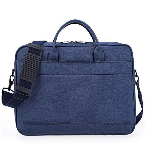 Handtasche Schultertasche, 13-Zoll-Männer und Frauen Apple Laptop-Tasche, versteckt blau