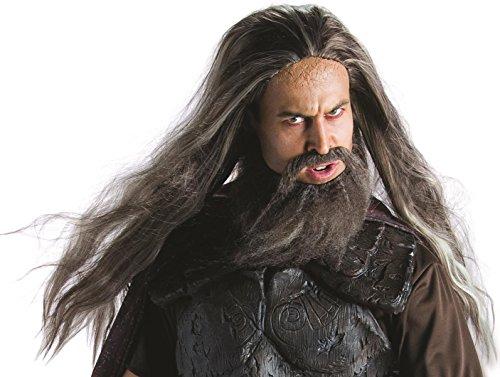 Hades Perücke und Bart -