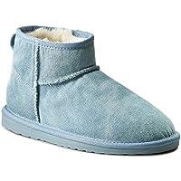 Emu Stinger (W11376) Denim Micro Mini Boots -Light Denim - UK 6, EU 39