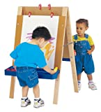 Best Toddler Easels - Jonti-Craft TODDLER ADJUSTABLE EASEL MINIMAL ASSEMBLY REQUIRED MPN: Review