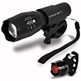 Best Bicycle Lights - Bike Lights, Degbit Super Bright Bike light set Review