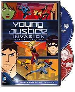 Young Justice Invasion Destiny Calling: Season 2 [DVD] [Region 1] [NTSC] [US Import]
