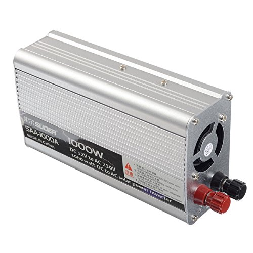 Kungfu Mall 1000 Watt Led-anzeige 12 V Zu 220 V Solar Auto Power PV Wechselrichter Reine Sinuswelle Für Desktop
