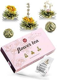 Theebloemen cadeauset – thee cadeau in mooie presentatiedoos – een stijlvol cadeau voor vrouwen – elke theeblo