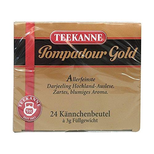 Teekanne Pompadour Gold, 1er Pack