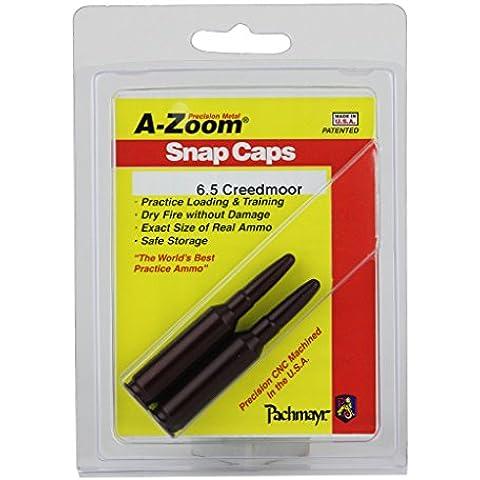 A-Zoom 6.5 Creedmoor Snap Cap 2Pk by A-ZOOM