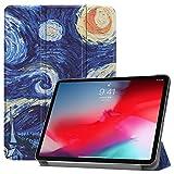 Sportfun Cover iPad PRO 11, Slim Custodia con Funzione di Auto Sveglia/Sonno Case Protettiva in Pelle PU per iPad PRO 11 2018 (Apple Pencil Magnetically Attached Charging/Pairing Compatible)