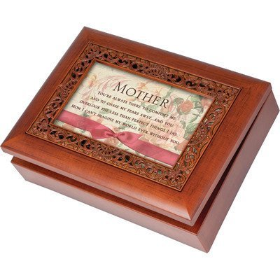 Cottage Garden Ornate Mother Music Box by Cottage Garden