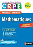 Image de Annales CRPE 2017 : Mathématiques