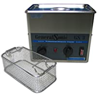 GeneralSonic GS3 Ultraschallreinigungsgerät (Ultraschallgerät von 3 Liter) ultraschallreiniger mit korb und deckel