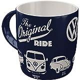 Nostalgic-Art 43043 Retro Kaffee-Becher Volkswagen - VW Original Ride, Große Lizenz-Tasse mit tollem Bulli, Beetle & Golf Motiv, Geschenk-Idee für Vintage-Liebhaber, 330 ml