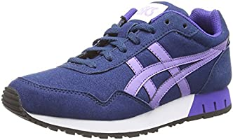 Asics Curreo, Sneakers Basses Femme - Bleu (dark Blue/aster Purple 5835) - 42 EU (8 UK )