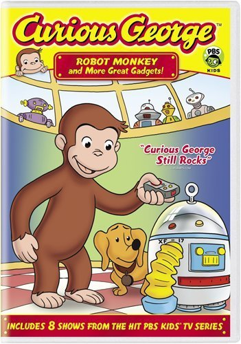 Curious George: Robot Monkey and More Great Gadgets! (Curious George-dvd)