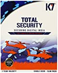 Ensures protection of your computer want to keep your device safe and secure? Then buy the K7 Total Security - 1 PC, 1 Year (CD) online from Amazon India. As the world comes closer virtually, there are chances that we face a number of threats that ob...