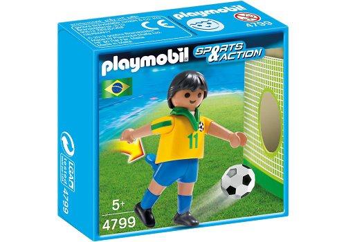 Playmobil Fútbol - Fútbol: Jugador Brasil 4799