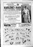 Frères 1901 de Mappin de Restaurateur de Cheveux de Harlene de Publicité Cheapside Londres