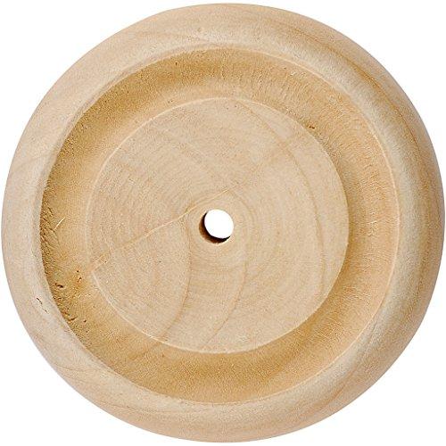 Rad, Größe 50x14 mm, Lochgröße 3 mm, China berry, 4Stck. China-räder