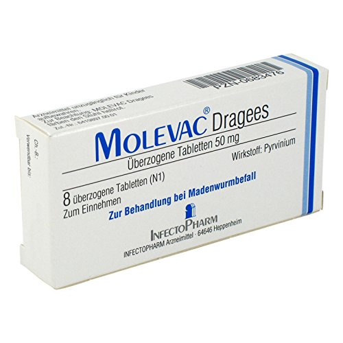 Molevac Tabletten, 8 St.