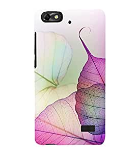 printtech Nature Colored Leaves Abstract Back Case Cover for Huawei Honor 4C