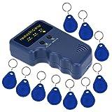 sdreamland RFID Kopierer, RFID Reader Writer Handheld 125kHz RFID Duplikator für Access Control Schlüssel mit 125kHz RFID ID Karte Reader
