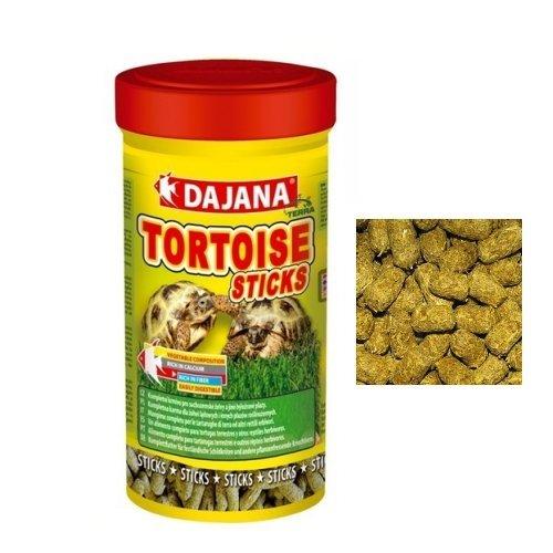 Dajana Tortoise Sticks - Mangime completo per tartarughe terresti e rettili erbivori (1000 ml) - Tartaruga Di Terra